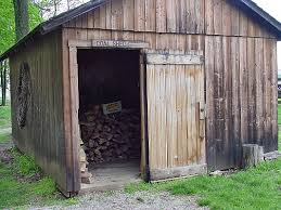 The woodshed is a place of sorrow.