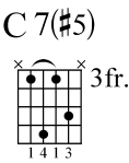 augmented minor chord 3