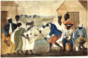 Slave_dance_to_banjo,_1780s