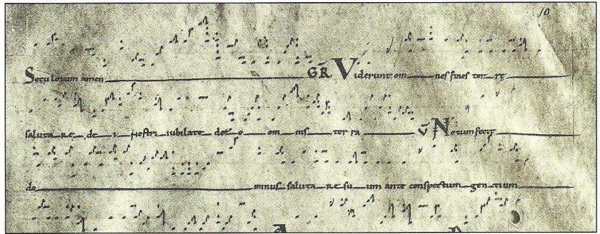 Heighted Neumes 3
