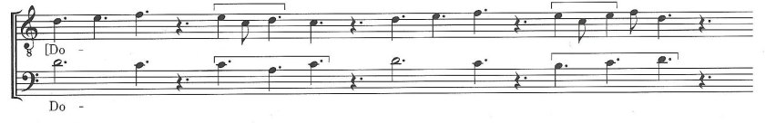 Discant clausula (Burkholder 97) 2
