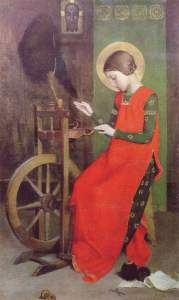 Marianne_Stokes_St_Elizabeth_of_Hungary_Spinning_for_the_Poor (1)