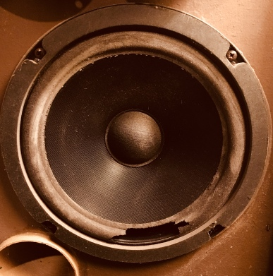 A speaker is a transducer. It converts electrical energy into mechanical energy.